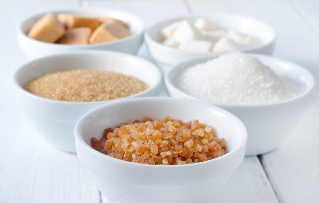 lo zucchero e i dolcificanti